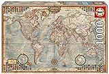 Educa Borrás 16764, Puzzle de 1000 piezas, El Mundo, Mapa Político, 46 x 30 cm
