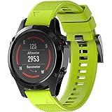 ESAILQ Smart Armband für Garmin Fenix 5 GPS Watch, Ersatz Silicagel Soft Band Strap Für Garmin Fenix 5 GPS Watch