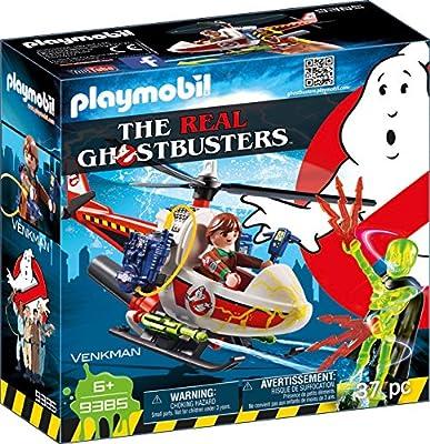Playmobil 9385 - Venkman mit Helikopter Spiel von geobra Brandstätter Stiftung & Co. KG, de toys, GEOVR