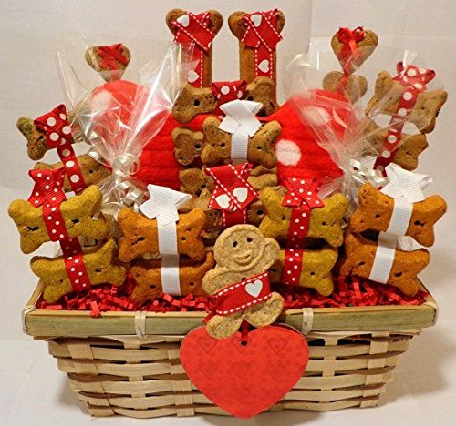 The Gift Box Fun Dog Treat Hamper