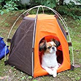 VANELIFE Tenda Pieghevole per animali, impermeabile anti-UV portatile Bella Casa per piccoli cani Cat Kitty Animali di compagnia