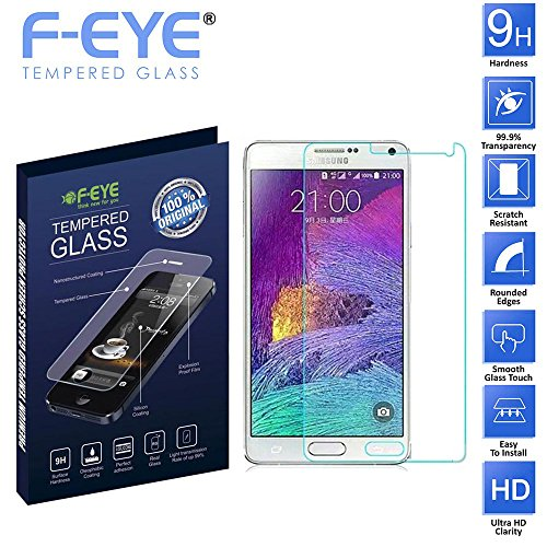 FNS F-EYE® Tempered Glass for Samsung Galaxy Alpha 5, Ultra Slim - 9H Hardness - 0.33mm Thickness Samsung Galaxy Alpha 5 Mobile Screen Protector
