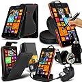10-IN-1-Monster Zubehör Pack Nokia Lumia 625 Premium PU 3…