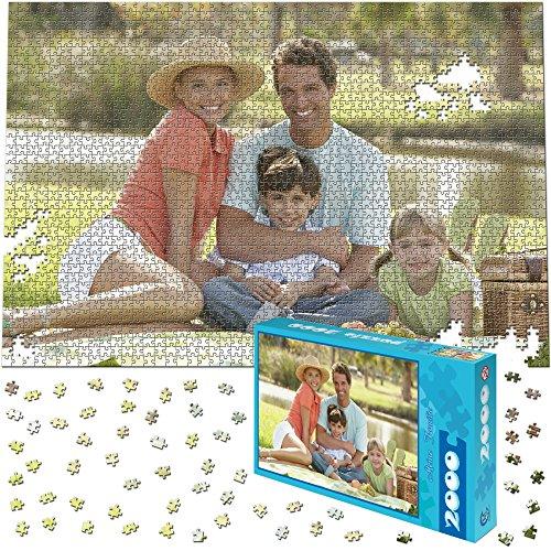 Fotopuzzle 2000 Teile, 90x60cm - Individuelles Puzzle mit Foto-Schachtel - Puzzle Foto