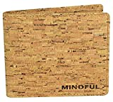 Vegan Wallet by The Mindful Wallet   Eco Friendly Wallet and Non Leather   The Complete Alternative to Leather Wallets   RFID Protected   PERFECT Vegan, Eco-Friendly GIFT! PLUS Gift Box (UNISEX)