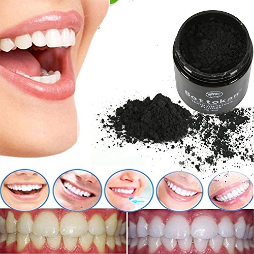 Oyalaiy Natural Activated Charcoal Dents Blanchiment Poudre CafšŠ ThšŠ Taches d'šŠlimination du tabac Soins bucco-dentaires