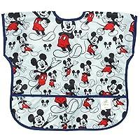 Bumkins Disney Baby Waterproof Junior Bib, Mickey, 1 to 3+ Years