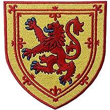 Escudo de armas de Escocia Escudo de león cruzado Parche Bordado de  Aplicación ... 5c32cc97f3863