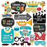 #7: Party Propz 1 St Birthday Photobooth (24 Pieces)