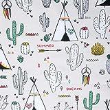 GALERIAS MADRID Galerien Madrid bedruckter Stoff Tipi