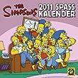 Simpsons Wandkalender 2011: Simpsons 2011 Spaßkalender