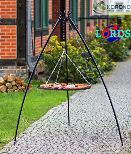 113Stativ aus Stahl schwarz 70cm Gitter auf Stativ Gebot 5mm/Rahmen 20x 4mm Arbeit Handbuch Hochwertige, Made in Polen