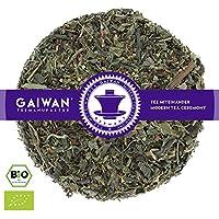 "No. 1262: Organic herbal tea loose leaf ""Slimming Tea"" - 100 g (3.5 oz) - GAIWAN® GERMANY - honey bush, nana mint, green mate, nettle, japan bancha, pu-erh tea from China"
