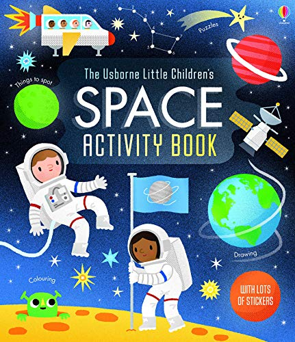 The Usborne Little Children's Space Activity Book (Activity Books)