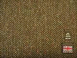 Donegal Tweed Fischgrätstoff AZ55 100% Wolle