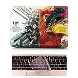 Coque MacBook Air Occasion Prix - L2W Laptop Ordinateur Case Plastique Coque Rigide Housse pour Apple MacBook Air 13 pouces [Modèle:A1369/A1466] Incluant Transparent couvercle du clavier,Peinture de cerveau