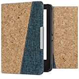kwmobile Folio Case for Tolino Shine 2 HD - Cork and Fabric