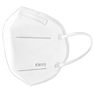 WeCool KN 95 Mask with Melt Blown Protective layer BFE > 95%, ISO, FDA, CE AND SITRA Certified 5 Layered Protection reusable Face Mask ( Pack of 2 )
