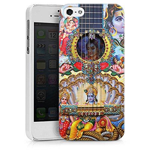 Apple iPhone X Silikon Hülle Case Schutzhülle Gitarre Spanien Kunst Hard Case weiß