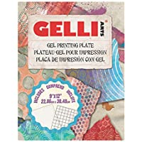 Gelli Arts Gel Printing Plate 9X12 Inches, One Each, Clear