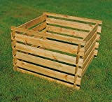 Komposter Holz 100 x 100 x 70 cm
