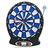 Busyall elektrisches Dartscheibe Dartspiel Dartboard ,Mehrfarbig