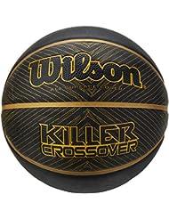 Wilson intérieur de basket-ball, 3x 3Compétition, FIBA zugelassen, Parquet, granulés de Sport, linolium-le fond PVC, Taille 6, 8à 12ans, FIBA 3x 3Official Game Ball, Orange
