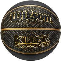 Wilson Killer Crossover Pelota, Negro/Oro, 7