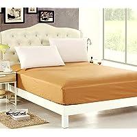 Sleep Matic Cotton 220 TC Mattress Protector (White_King)