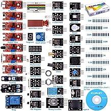 Kuman K5 37 in 1 per Raspberry Pi 3 Arduino UNO R3 Mega2560 Nano Sensore modulo Imparare Kit