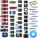 For arduino UNO R3 Mega2560 Nano Sensor Starter Kit Kuman 37 in 1 Arduino Compatible Learning Module for Raspberry Pi RPi 3 2 Model B B+ A A+ K5