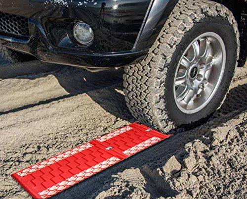 Tappetini-auto-trazione--Carsun-emergenza-pneumatico-ruota-grip-Track-Rescue-Board-ideale-per-neve-ghiaccio-fango-e-sabbia-adatto-per-la-maggior-parte-dei-pneumatici-Dimensioni-2-Pack