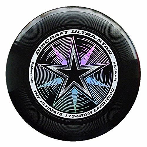 Discraft - Frisbee Ultrastar, 175 g, Nero