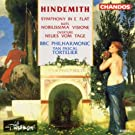 Hindemith: Symphony in E flat; Nobilissima Visione; Neus vom Tage by BBC Philharmonic Orchestra (1992-07-01)