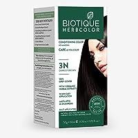 Biotique Bio Herbcolor 3N Darkest Brown, 50 g + 110 ml (Conditioning Color No Ammonia)