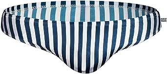 AIMPACT Men Bikini Quick Dry Nylon Drawstring Briefs Surf Swimming Suit for Men