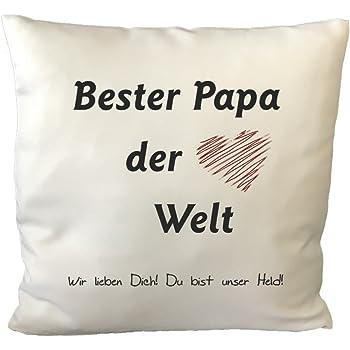"""Kissen /""""Mein Papa ist Aufzählung.../"""" personalisiert Geschenk Vatertag Vater"""