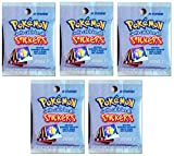 Pokemon Sticker Serie 1- Artbox 5 Booster Packungen 50 Sticker