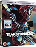 Transformers The Last Knight Steelbook UK Includes 3D and 2D + Digital Download Limited Edition Steelbook Region Free