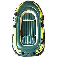 Bateau de Kayak Gonflable, Outil de plongée à la dérive de pêche à la dérive de Bateau à air Gonflable en PVC pour Trois…