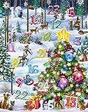 Vermont Christmas Snowy Slalom Adventskalender (Countdown zu Weihnachten)