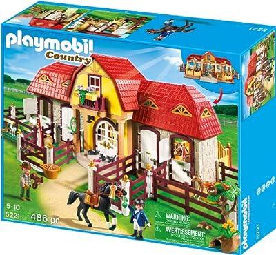 Granja: ponis + establo de Playmobil (5221)