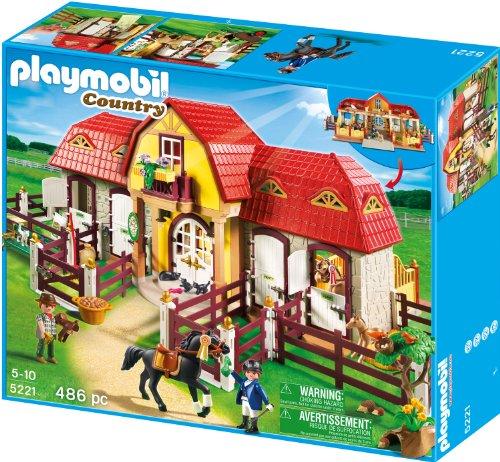 Preisvergleich Produktbild PLAYMOBIL 5221 - Großer Reiterhof mit Paddocks