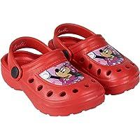 Sabots - Crocs Enfant Fille Minnie Disney Rose foncé et Rouge du 22 au 29