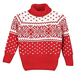 Lilliput Boys Sweaters (8907264030212_Red_11-12 Years)