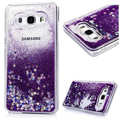 galaxy-j5-case-maviss-diary-samsung-galaxy-j5-case-2016-model-flowing-liquid-glitter-sparkly-stars-h