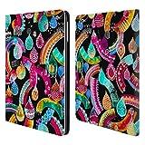 Head Case Designs Offizielle Ninola Regenbogen Schnur Wasserfarben 2 Brieftasche Handyhülle aus Leder für iPad Air (2013)