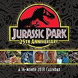 Jurassic Park 25th Anniversary 2018 Calendar