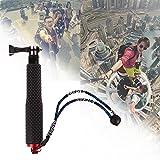 Portable Handheld ausziehbaren Teleskop-Einbeinstativ Selfie Stick Aluminium-Legierung für GoPro Hero