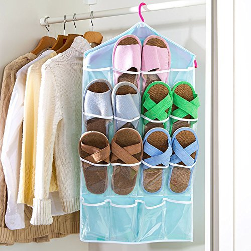 Everbuy New Arrival hanging wall pocket storage bag Candy color...